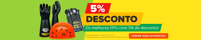 5% Ofertas EPI