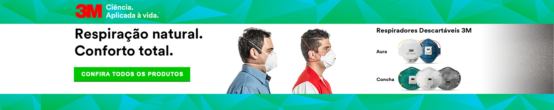 Respiradores descartáveis para sua segurança