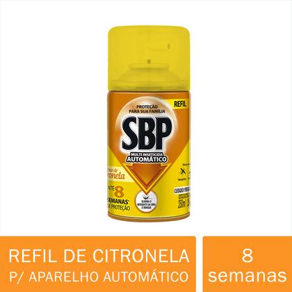 350015-SBP-Multi-Inseticida-Automatico-Oleo-de-Citronela-Refil-250ml---Duracao-ate-8-semanas