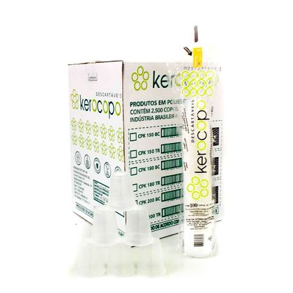 Copo-Descartavel-para-Agua-180ml-Transparente-com-2.500-Unidades-Kerocopo