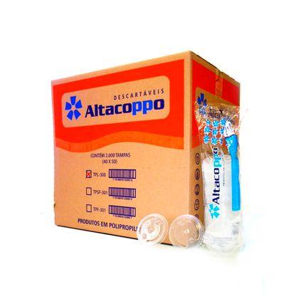 Tampa-Plastica-com-furo-330ml-Transparente-com-2.000-Unidades-Altacoppo
